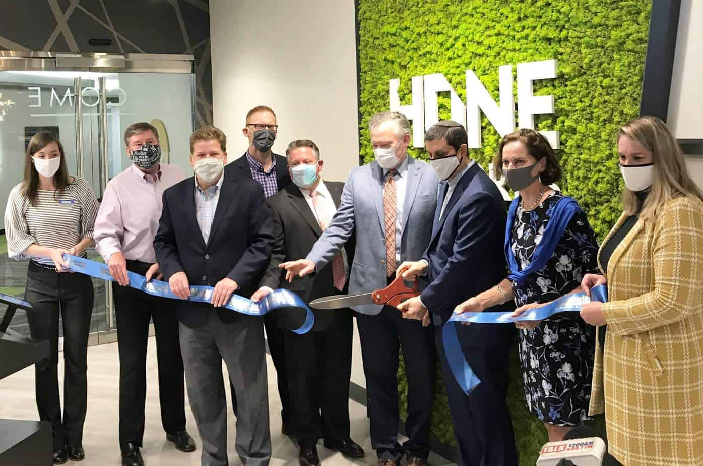 Hone Coworks Ribbon Cutting