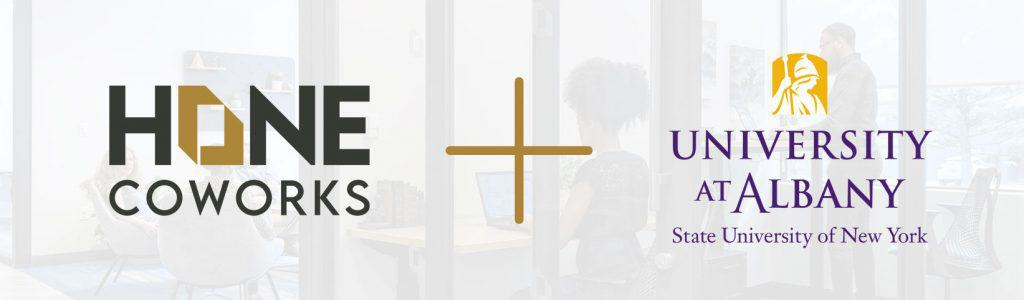 Hone Coworks is a START-UP NY Eligible Tax-Free Area (TFA) Space with the University of Albany Image